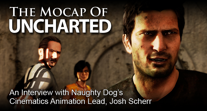 Uncharted Mocap Interview Title